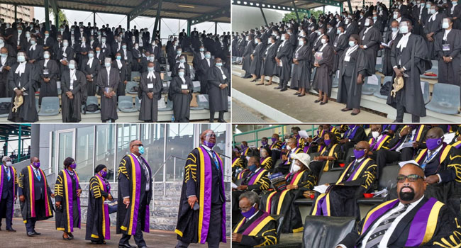 A total of 1,785 Lawyers Have Been Called To The Nigerian Bar