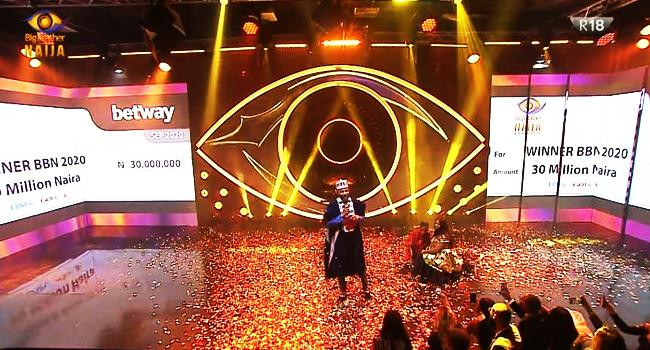 Laycon Crowned Winner Of Big Brother Naija Season 5 – Channels Television