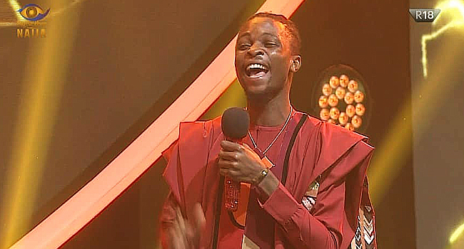 Laycon Wins 2020 Big Brother Naija Show
