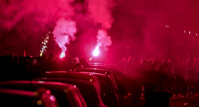 Protests Over Rising Rents Turn Violent In Germany's Leipzig