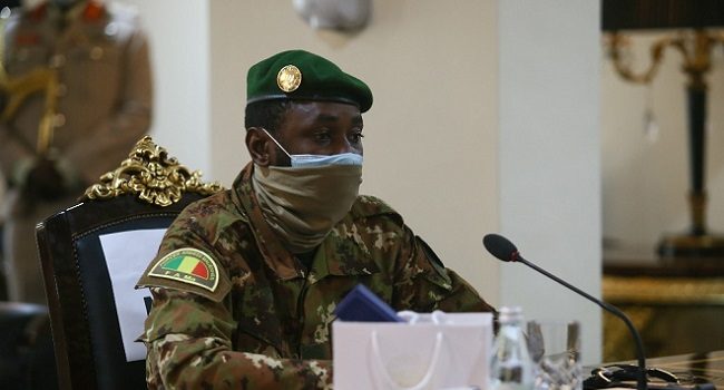 Mali Junta Chief Urges Support For French, UN Troops In Country