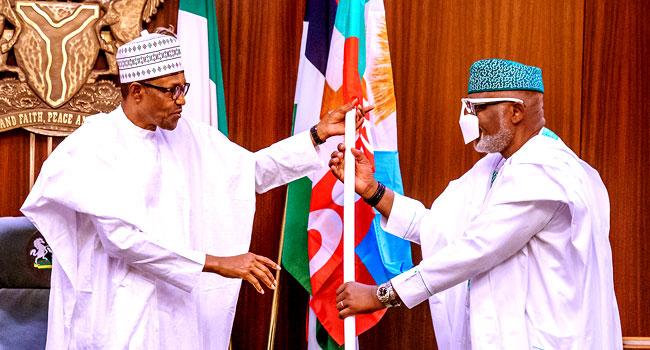 Ondo Election: Buhari Endorses Akeredolu, Says APC Will Win Fairly