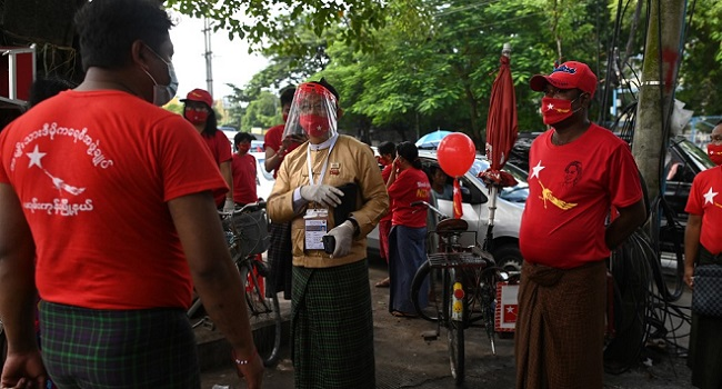 Election Countdown Starts In Myanmar Under COVID-19 Shadow