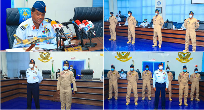 NAF Wings 4 New Pilots, Trains 139 In Last Five Years – Channels Television