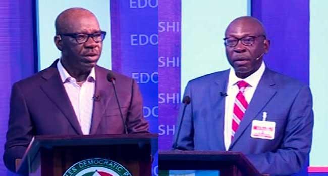 Ize-Iyamu's Thinking About Governance Has To Change, Says Obaseki