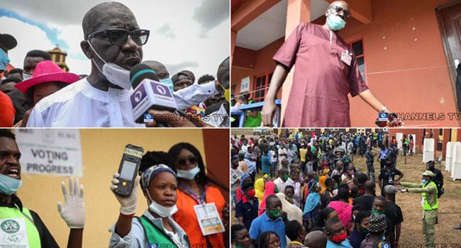 Edo Decides: Mixed Reactions As Obaseki, Ize-Iyamu Vote