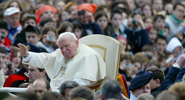 Panic And Prayers: Today 40yrs Ago, John Paul II Was Shot