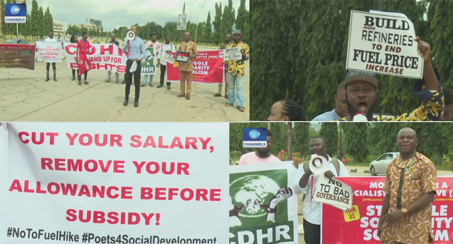 Fuel, Electricity Hike: Protesters Urge Lawmakers To Intervene