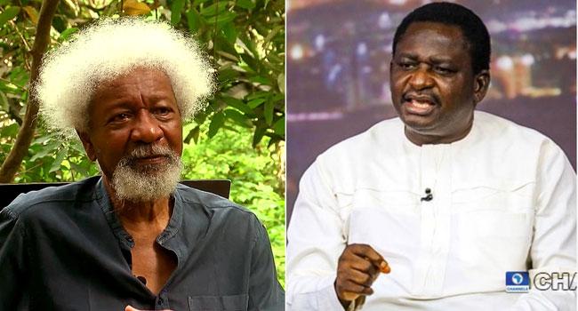 Nigeria Had Always Been Divided, Presidency Replies Soyinka