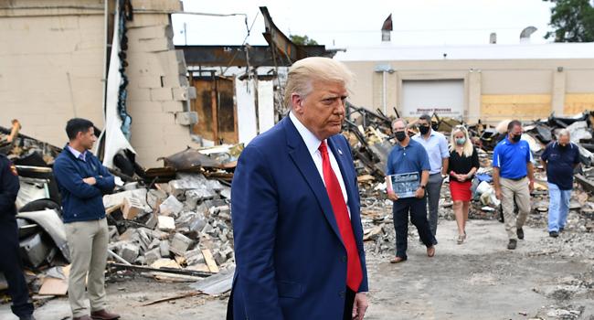 Trump Calls Kenosha Anti-Racism Protests 'Domestic Terror'