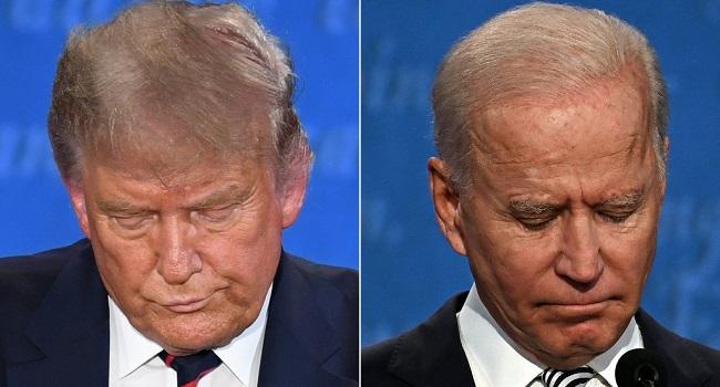 Biden Blasts Trump As 'Embarrassment' Over Racist Group Row