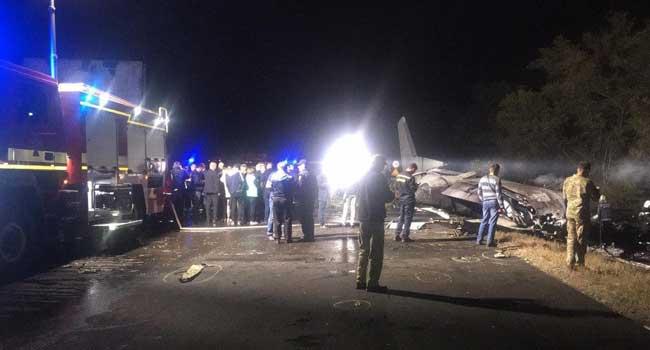 22 Killed In Ukraine Military Plane Crash