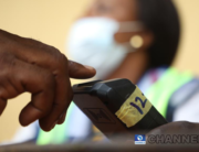 A file photo of a voter at an election poll center. Sodiq Adelakun/Channels Television