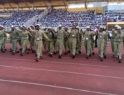 A file photo of National Youth Service Corp members in action. Credit: NYSC/Twitter