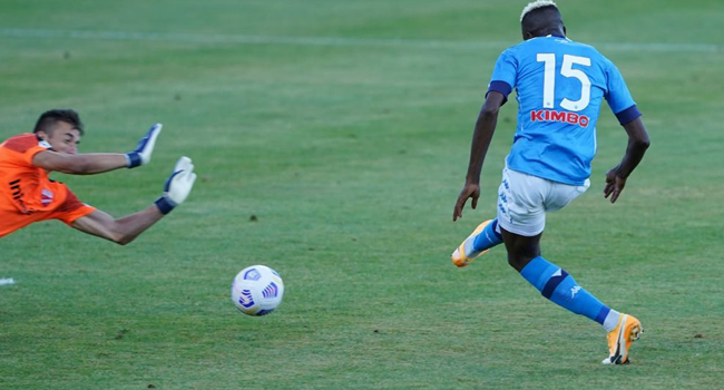 Osimhen Scores Second Hat-Trick For Napoli