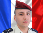 This handout picture released by the French Army Information and Public Relations Service (SIRPA Terre) on September 5, 2020, shows 1st Class Hussar Arnaud Volpe of the 1st regiment of parachute hussars of Tarbes, who was killed on September 5, 2020 in Mali during his deployment as part of the Operation Barkhane. SIRPA / AFP