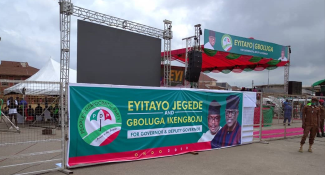 PDP Set To Kick Off Governorship Campaign In Ondo