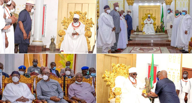Wike Commends Oba Of Benin For His Apolitical Stance