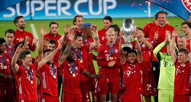 Martinez's Extra Time Goal Hands Bayern Narrow Super Cup Win Over Sevilla