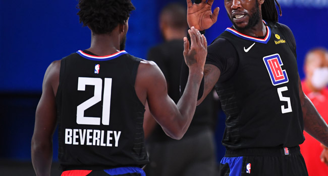 NBA Fines Beverley $25,000 For Referee Abuse