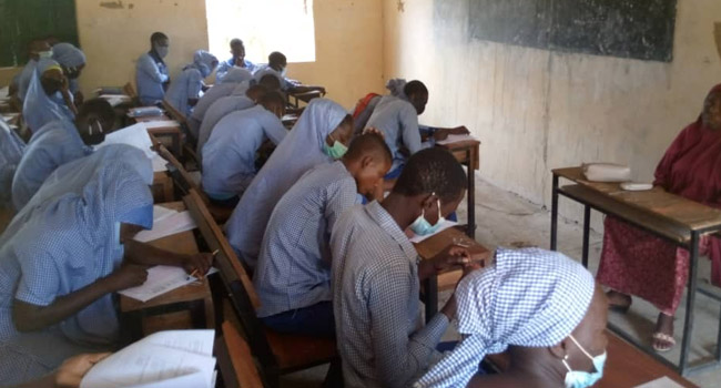PHOTOS: WAEC Conducts Exams In Chibok Six Years After Abduction Of Schoolgirls