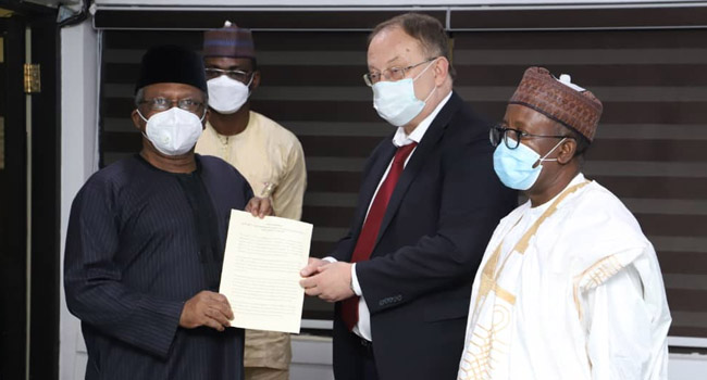 Russia Presents COVID-19 Vaccine To Nigeria