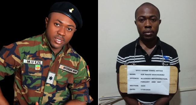 Fake Army Lieutenant In EFCC Net For Multiple Fraud
