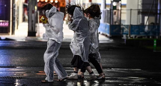 Powerful Typhoon Slams Japan With Violent Winds, Heavy Rain