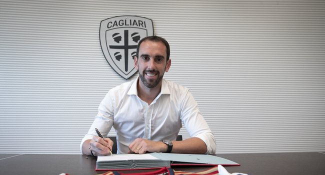 Uruguay Skipper Godin Leaves Inter For Cagliari