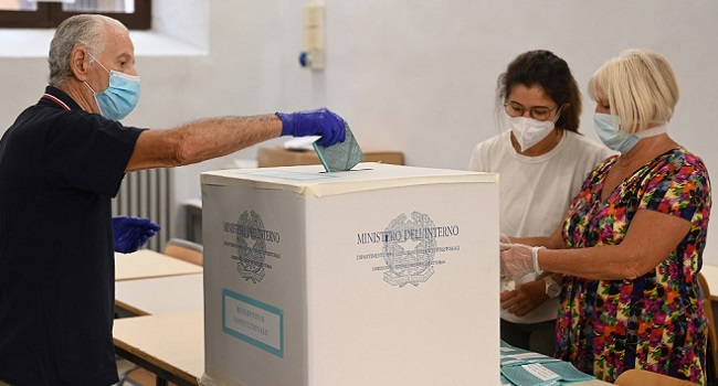 Italy Defies COVID-19 For Vote As Far-Right Plots Seismic Change