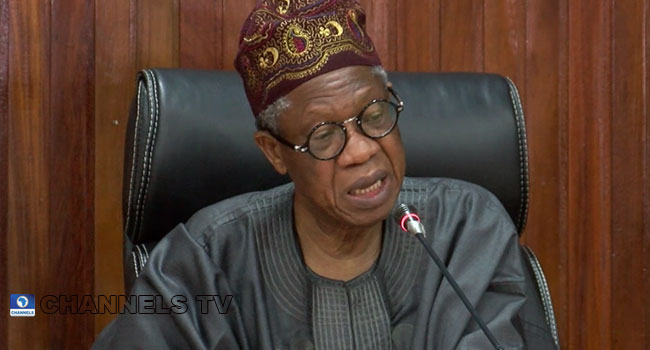 Nigeria Will Witness Improved Security In 2021, Says FG