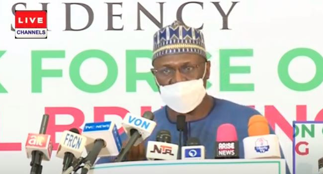 Edo/Ondo Elections: No Face Masks, No Voting, Says INEC Chairman