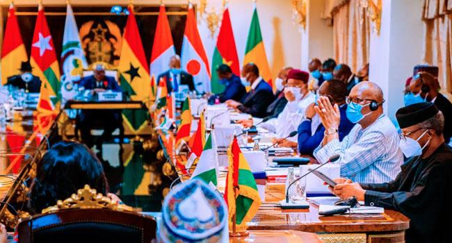 PHOTOS: Osinbajo Attends ECOWAS Summit In Ghana
