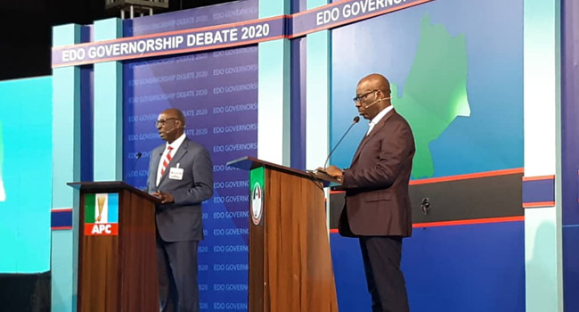 'We Need A Complementary Force': Ize-Iyamu, Obaseki Agree On Community Policing