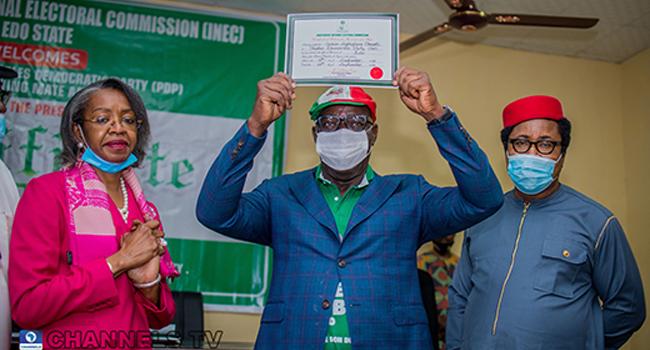 Obaseki, Shaibu Receive Certificates Of Return