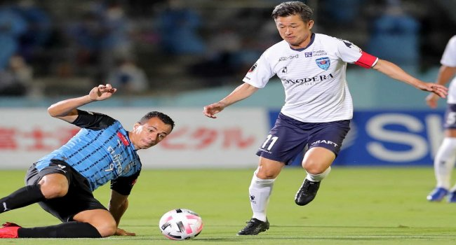 53-Year-Old Kazuyoshi Miura, Sets Record As J-League's Oldest Player