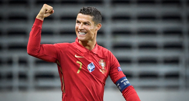 Ronaldo, Fernandes Others Headline Portugal's Squad For Euro 2020