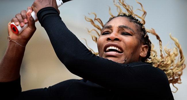 Serena Overcomes Shaky Start In Roland Garros Opener