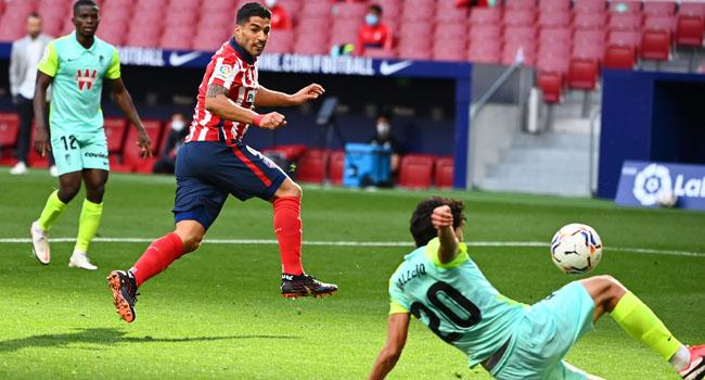 Suarez Bags Brace In Debut As Atletico Hammer Granada