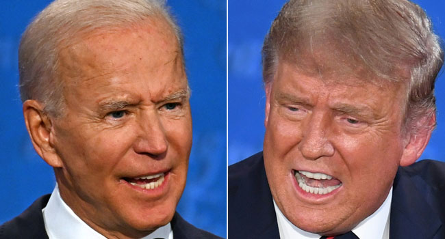Trump-Biden Final Debate: Coronavirus, Wind And Hitler