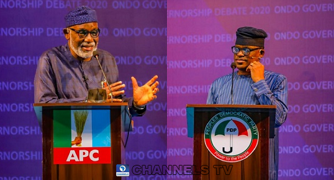 Which Candidate Performed Better In The Ondo Governorship Debate?