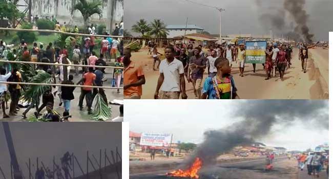#EndSARS: Hoodlums Storm Benin Protest, Free Prisoners