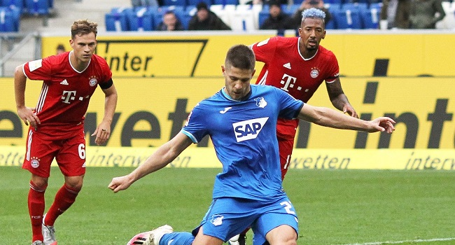 Bayern Munich Chasing After Hoffenheim Striker Kramaric- Reports