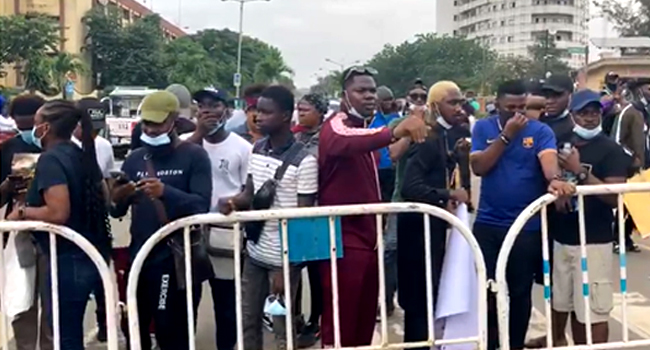 #EndSARS: Protests Against Police Brutality, Extra-Judicial Killings Enter Day Three