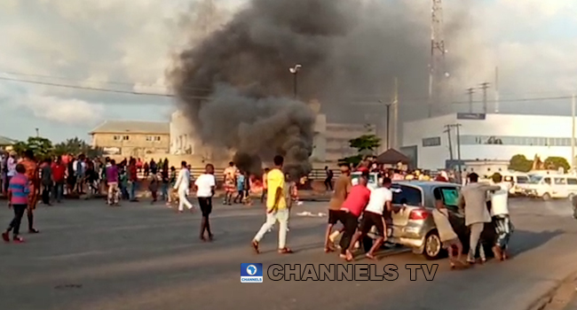 Police Confirms Burning Of Stations In Benin, Ask Parents To Prevail On Children, Wards