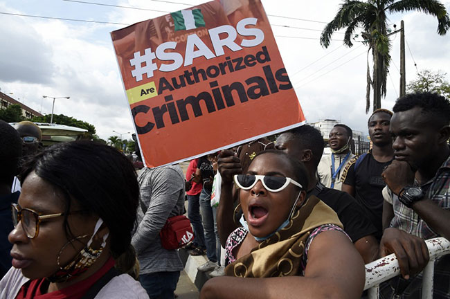 The Inspector-General of Police, Mohammed Adamu, has announced a dissolution of a subunit of the force, the Special Anti-robbery Squad (SARS).