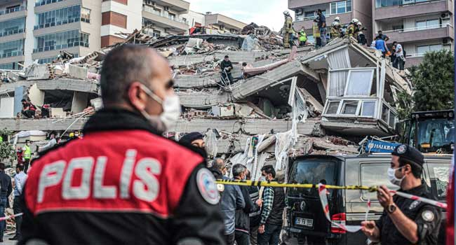 Two Teenagers Killed As Earthquake Hits Greece's Samos Island