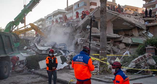 26 Dead, Buildings Collapse As Major Earthquake Hits Turkey, Greece