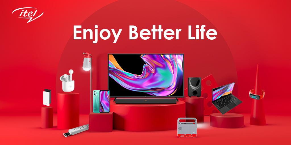 itel Picks New Brand Slogan, 'Enjoy Better Life', Unveils S16 Series
