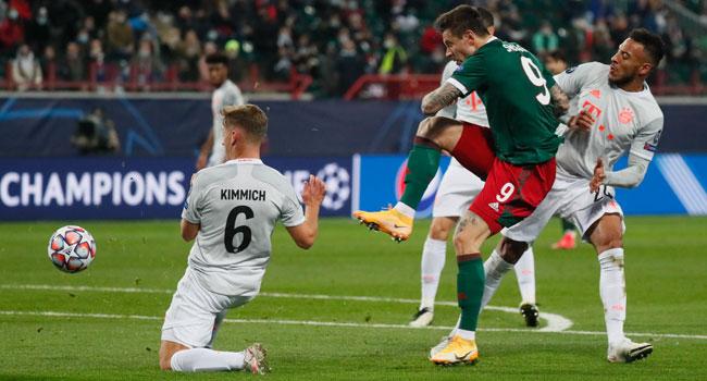 Kimmich Strike Maintains Bayern Munich's Record Run In Europe